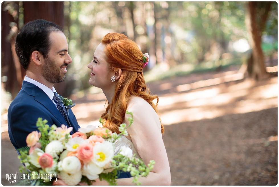Outdoor Art Club Wedding photos, Mill Valley Wedding Photos