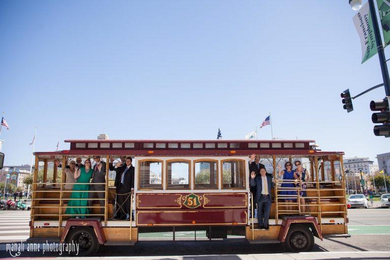 San Francisco city hall transportation options