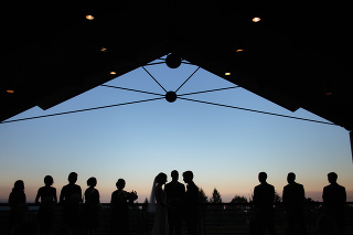 thomas fogarty wedding, woodside, ca