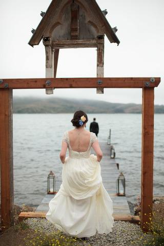 straus farm marshall california wedding