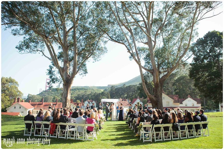 Cavallo Point Lodge Sausalito Wedding Jenny Travis Mi Anne Photography