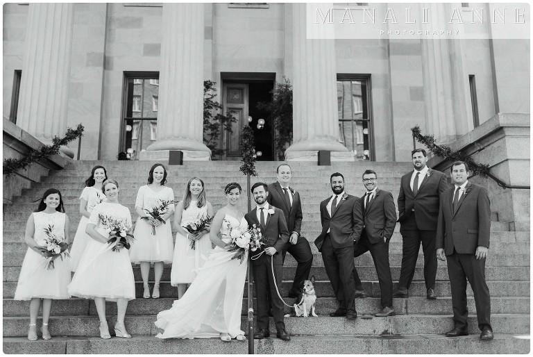 San Francisco Mint Wedding, event photography SF Mint