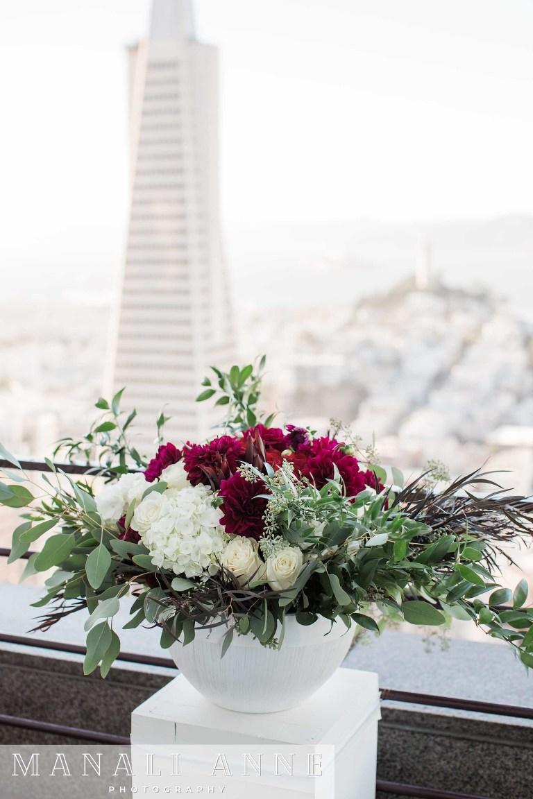 Loews Regency,San Francisco,Sky Deck,Skydeck Wedding,