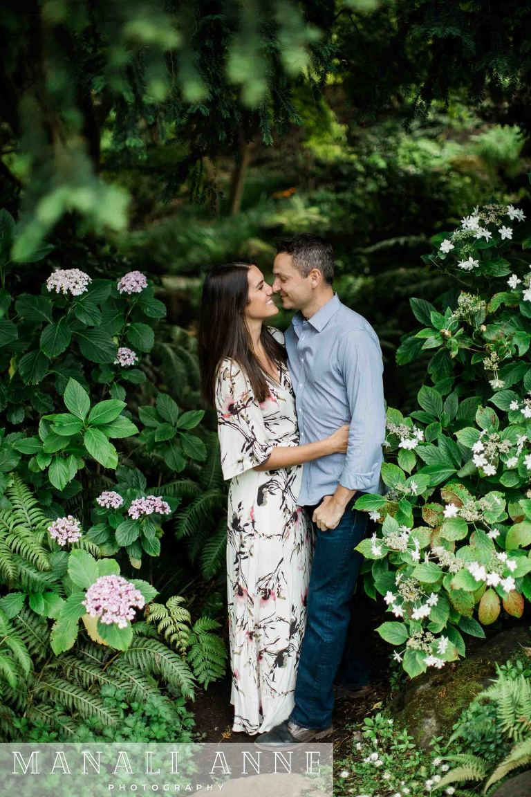 San francisco Botanical garden,engagement session,