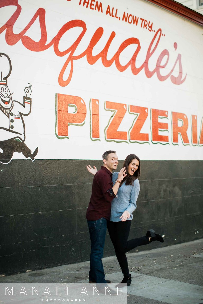 engagement session,inner sunset engagement session,urban san francisco engagement session,