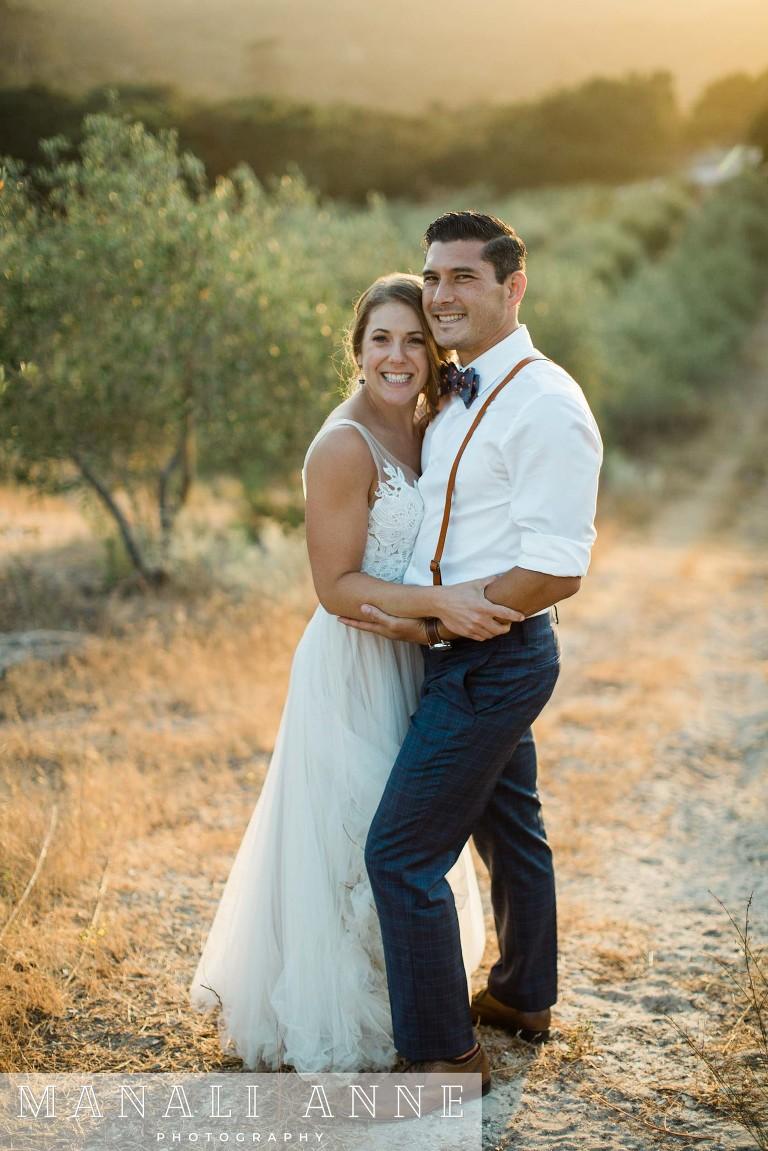 Tiber Canyon Ranch Wedding San Luis Obispo