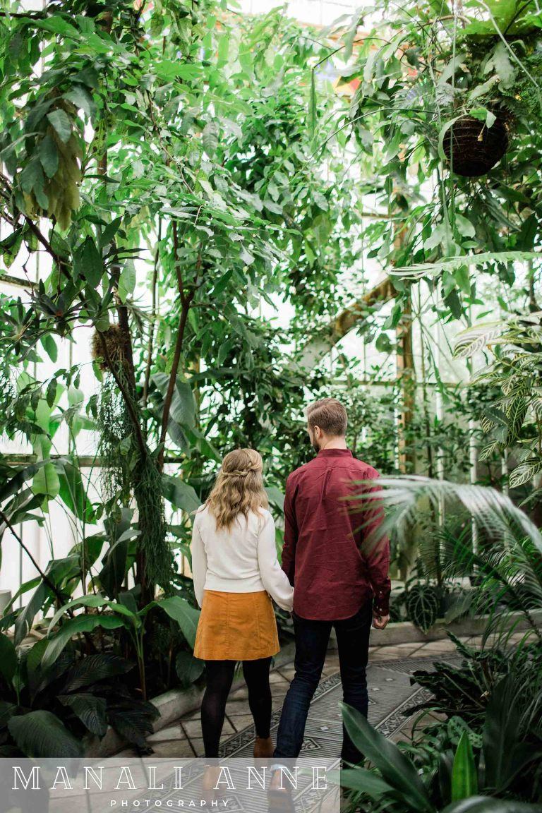 San Francisco Conservatory of Flowers: Engagement Session