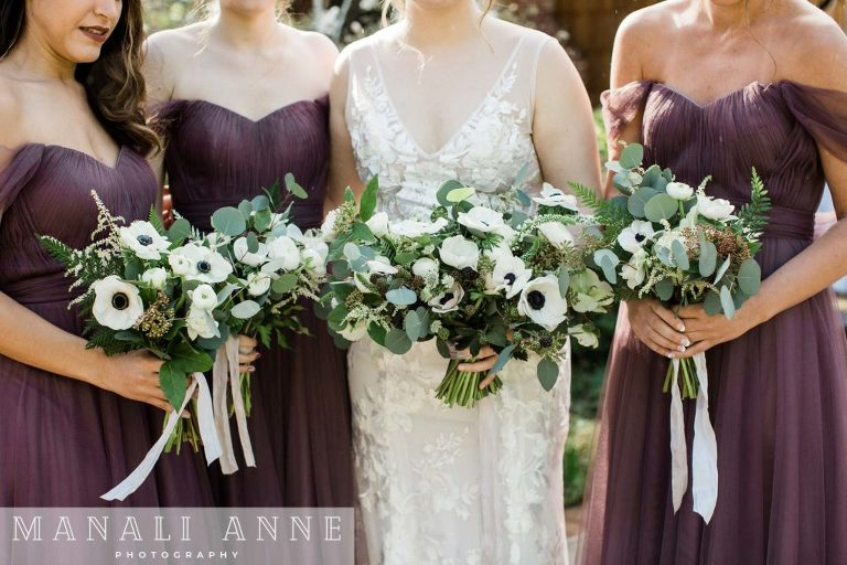 Outdoor Art Club Wedding first look, bewilder floral