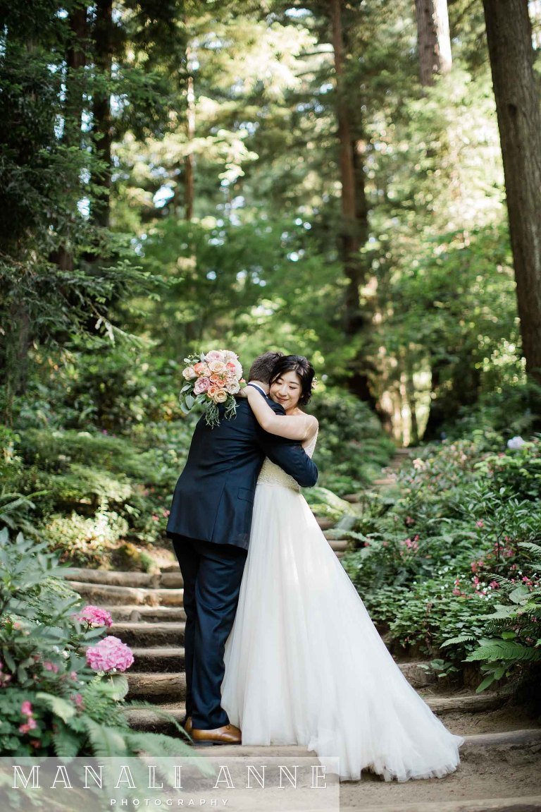 Nestldown Wedding, Los Gatos, Santa Cruz