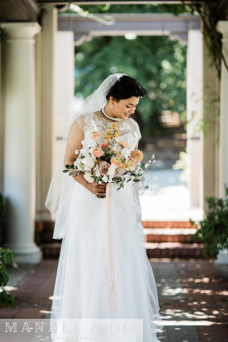Montalvo Arts Center Wedding bride