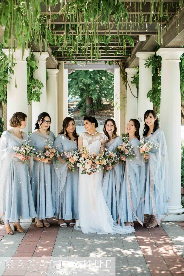 Montalvo Arts Center Wedding bridesmaids