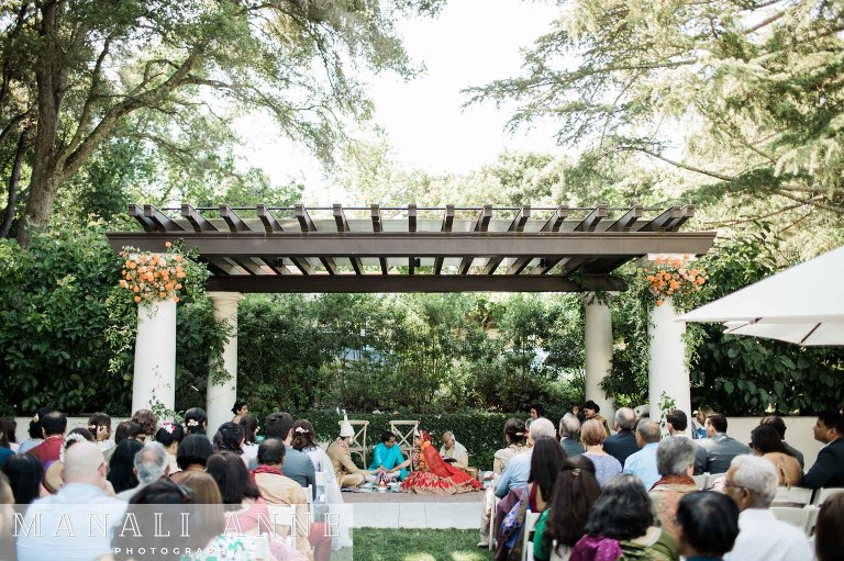 Montalvo Arts Center Wedding indian ceremony