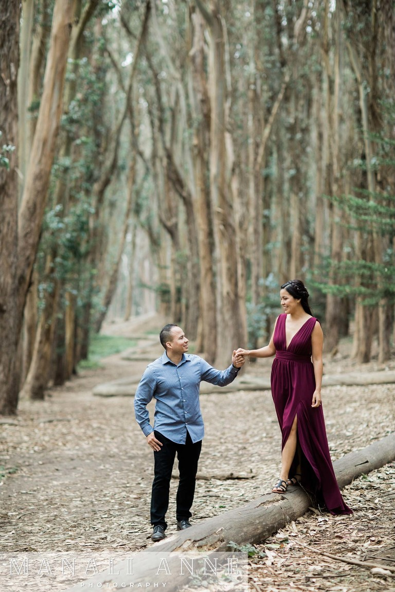 Lover's Lane, San Francisco Engagement Session