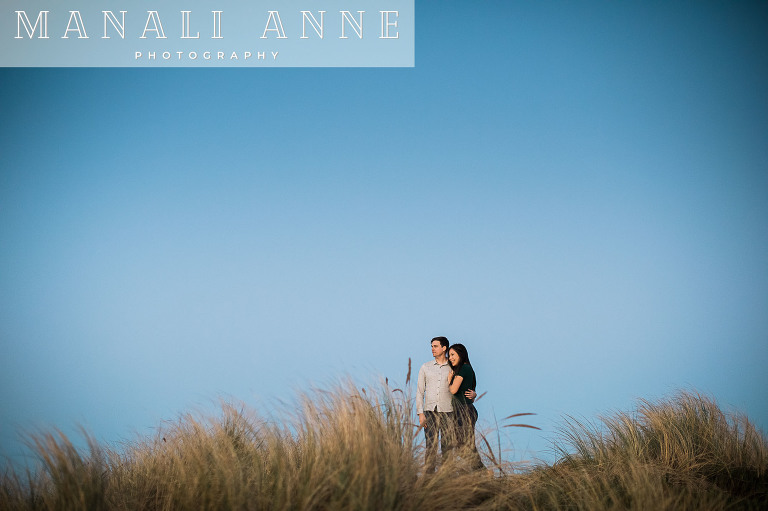Ocean Beach Engagement Session Photos