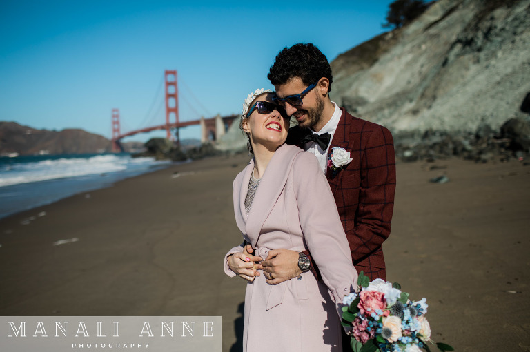 San Francisco Marshall's Beach Wedding
