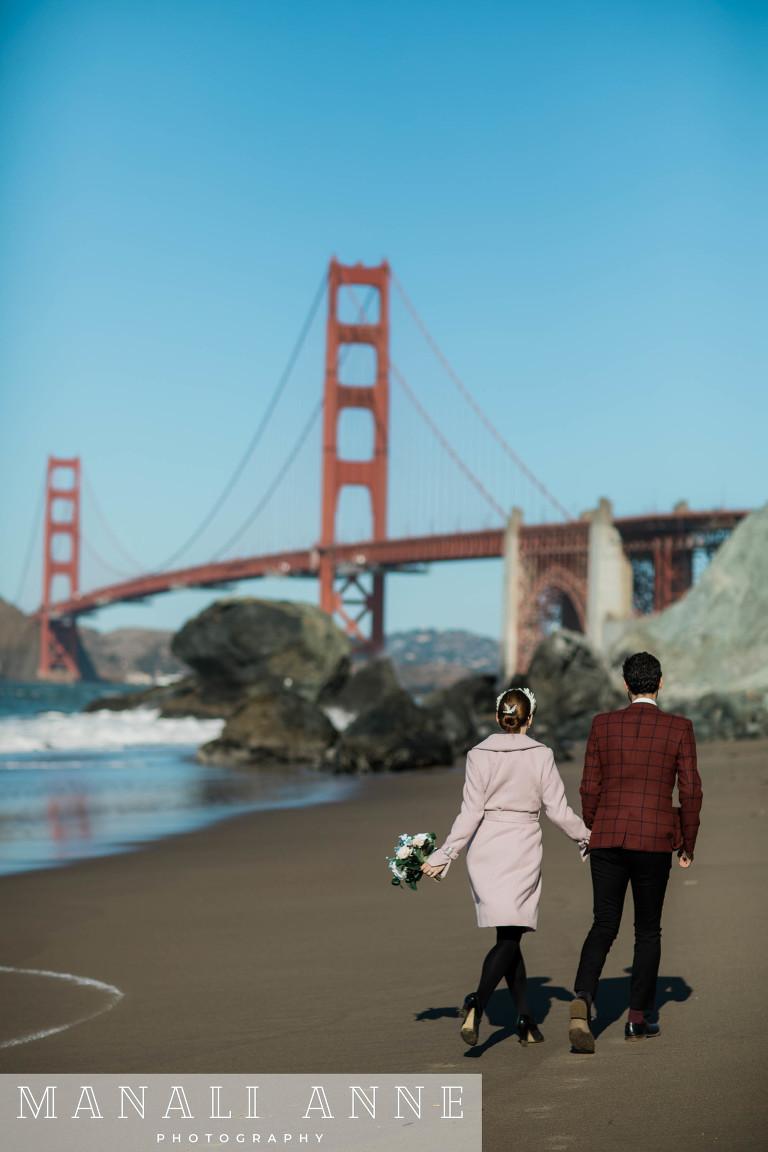San Francisco Marshall's Beach Wedding